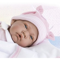 Bonecas Tipo Reborn Bebe Realista Com Enxoval 15 Peças