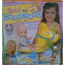 Boneca Rara Bebê No Cavalinho Estrela Jacky Bom Dia & Cia!!!