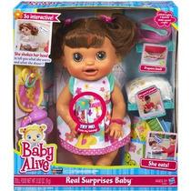 Baby Alive C O M E R E Brincar Morena - Caixa Lacrada