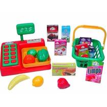 Balança E Cesta De Compras - Calesita Brinquedos