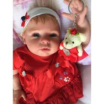 Bebê Reborn Princesa Ou Príncipe 51cm