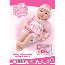 Boneca Bebê Tatá - Sid Nyl - Chora E Balbucia Como Um Bebê