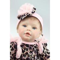 Boneca Reborn Bebe Reborn Talya 55 Cm Realista Frete Gratis