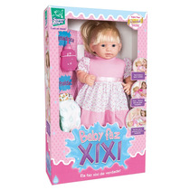 Boneca Baby Faz Xixi Com Acessórios E Cabelo - Super Toys