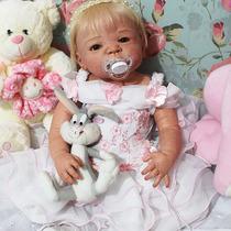 Bebê Que Parece De Verdade - Bebê Reborn - Victória