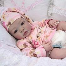 Bebê Reborn Gabriel Boneco Detalhes Reais Muito Barato Lindo