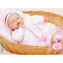Boneca Bebê Ninos Boca Aberta - Cotiplás