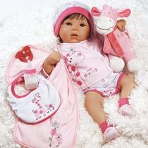 Boneca Bebe Realista Baby Reborn Pronta Entrega No Brasil