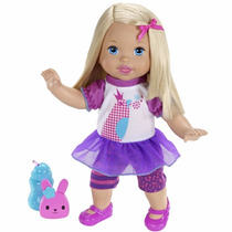 Boneca Little Mommy Fala Comigo X1030 Mattel