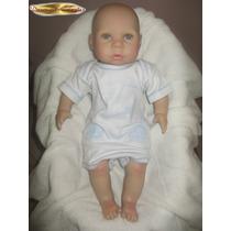 Bebê Reborn Boneca Menina Ou Menino Vinil De Silicone 50cm