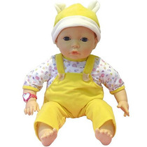 Boneca Emotion Baby Roupa Amarela Ou Rosa 12 X S/juros
