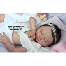 Bebê Reborn Carol Corpo Inteiro Em Vinil Siliconado Macio