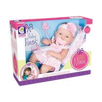 Boneca Ninos Baby Parece Bebê De Verdade Rostinho Macio