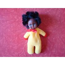 Boneca Bebê Negra Borracha Tecido Do Tipo Da Fofolete Grécia