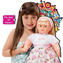 Boneca Babalu - Fala 50 Frases - 59 Cm - Adijomar Brinquedos