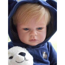 Boneco Bebe Reborn Menino Lucas