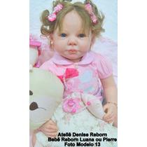 Boneca Bebê Reborn Luana Ou Pierre Parece Um Bebe De Verdade