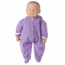 Boneca Ninos Bebê Dormindo Com Sons - Cotiplás
