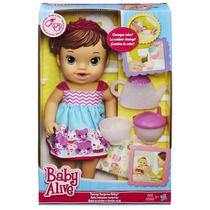 Baby Alive Chazinho Mágico Morena - Hasbro