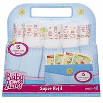 Baby Alive Super Refil Comida E Fralda B0023 Hasbro