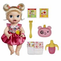 Boneca Baby Alive - Hora De Comer Loira - Hasbro A7022