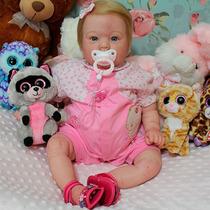 Bebê Que Parece De Verdade - Bebê Reborn - Clara