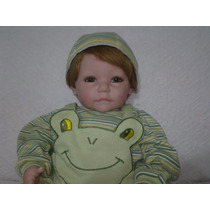 Boneca Adora Doll Bebe Real - Froggy Fun Boy