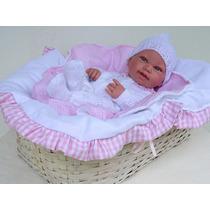 Enxoval Para Bebe Realista Reborn (a Bebe Não Acompanha)