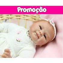 Boneca Bebe Reborn Super Realista Princesa - Pronta Entrega
