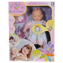 Boneca Cantando Com Os Dedinhos - Cotiplás