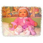 Boneca Bebê Expressão Real Chora,ri,ronca E Dorme