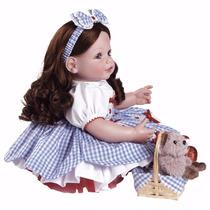 Boneca Adora Doll Reborn Dorothy Mágico De Oz Pronta Entrega
