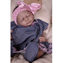 Bebê Reborn Negra(o) Sedex Grátis!!!