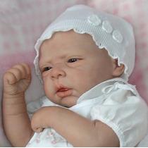 Bebe Reborn Boneca Linda Barata Sara Detalhes Muito Reais