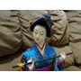 Boneca Japonesa Decorativa