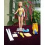 Boneca Susi Antiga Na Caixa Aula De Natação