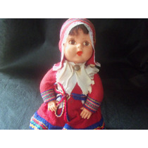 Antiga Boneca Para Coleção - Autêntica