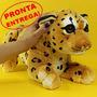 Bichinho De Pelúcia Leopardo Filhote 48cm Anti-alérgico