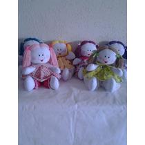 Bonecas De Pano Artesanal Decoração Quarto Bebe-kit Com 6