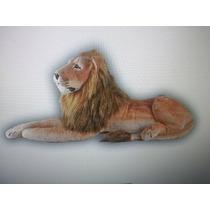 Leao Pelucia De 1,20 Metros Safari Decoração Leão Gigante
