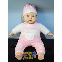Boneca Bebê Fofucho Gostoso De Abraçar Grande