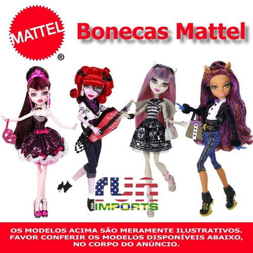 Bonecas Mattel Monster High - Vários Modelos. Importadas Eua