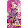 Barbie Loira De Mechas Coloridas - Cabelo Muda De Cor