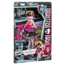 Monster High Draculaura Aula De Arte - Mattel