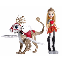 Boneca Ever After High Apple White Braebyrn Dragon Games