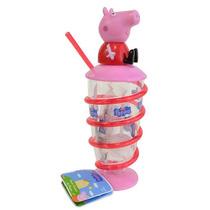 Doce Copão Canudo 3d Peppa Pig Ou George - 1 Unidade Sunny