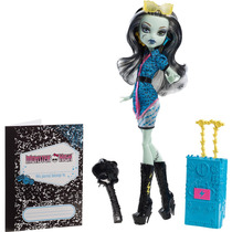 Monster High - Scaris - Frankie Stein No Brasil Com Nota