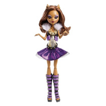 Boneca Monster High Clawdeen Wolf! Uivo Do Terror Original