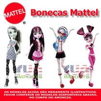 Bonecas Mattel Monster High, Modelos Variados Importadas Eua