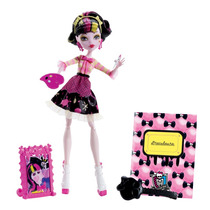 Boneca Menina Monster High Aula De Arte Draculaura Monstros